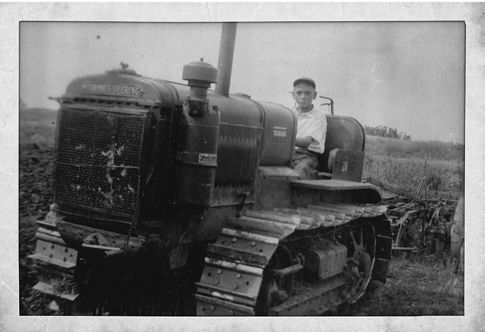 Deering Harvester Company : Lileks james about farmlife mom s photos of the